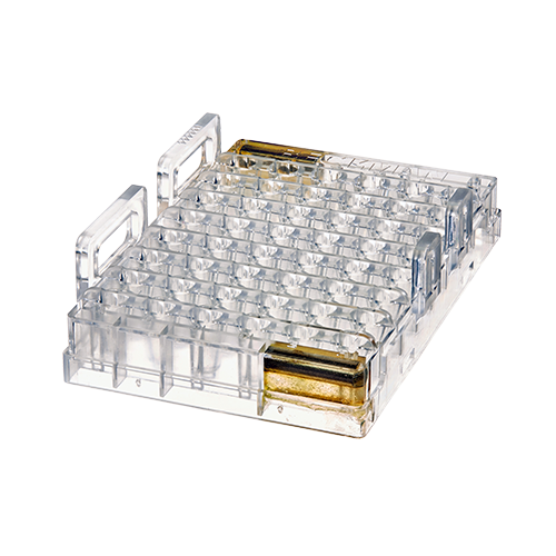 48 Position Sample Tray- 0.5 mL Vial product photo Front View L