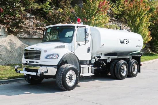 2020 Freightliner M2106 6x6 Load King 4000 Gal Kit Water Truck