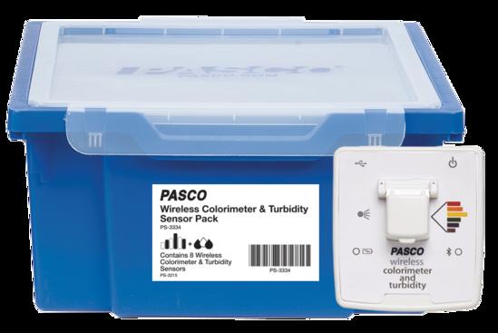 Wireless Colorimeter & Turbidity Sensor Pack