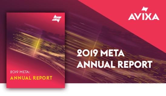 2019 META Annual Report | AVIXA