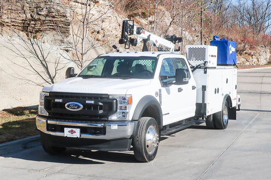 IMT DOM1SIII + 7500 ServiceTruck+Crane on 2022 Ford F550 4x4