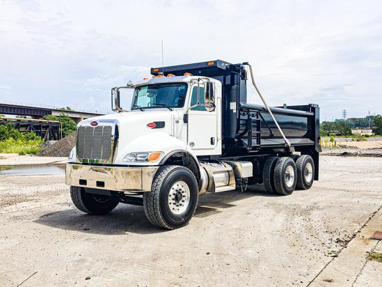 2020 Peterbilt 348 6x4 Load King LK16SQDB Dump Truck