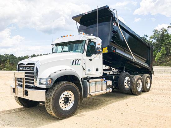 2019 Mack GU713/64FR 8x4 OX BODIES 16' Stampede Dump Truck