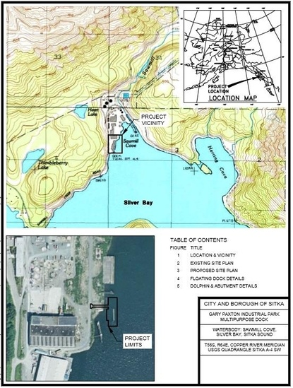 Project Map and Aerial Image