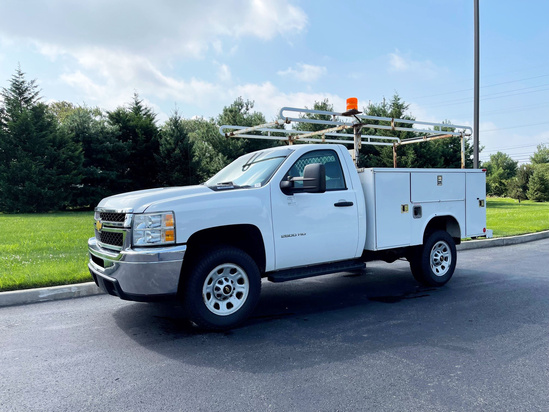 2014 Chevrolet 2500 4x2 Utility Bed Service Truck