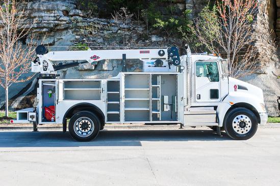 IMT DOM2SIII + 10000 ServiceTruck+Crane on 2021 Kenworth T370 4x2