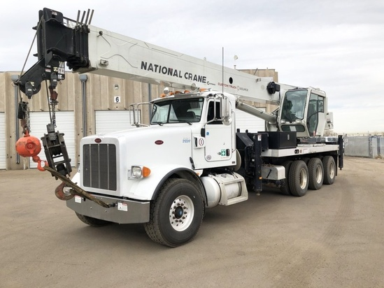 2012 Peterbilt 367 8x6 National NBT55128 Boom Truck