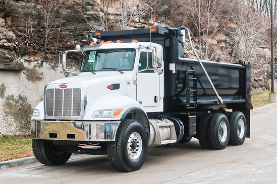 2021 Peterbilt 348 6x4 Load King EXD16.0481-4HLI Dump Truck
