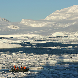 Antarctic investigators