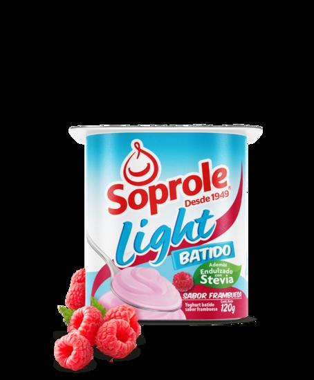 Soprole Yoghurt Batido Light sabor frambuesa