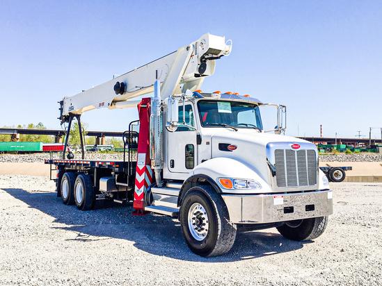 2021 Peterbilt 348 6x4 Load King Stinger 28-106 Boom Truck