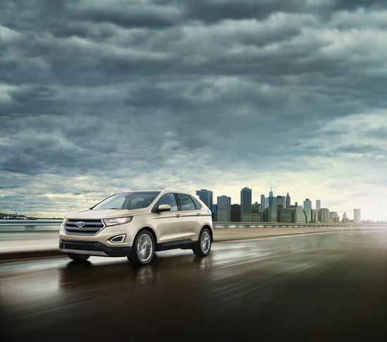 The  Ford Edge Has A Five Star Overall Safety Rating From The National Highway Traffic Safety Administration As Well As A Five Star Frontal Crash And