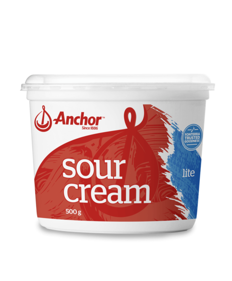 Anchor Sour Cream Lite 500g tub