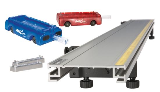 Basic PAScar Metal Track 2.2 m System