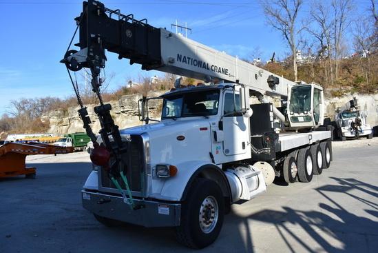 2014 Peterbilt 367 10x6 National NBT45127 Boom Truck