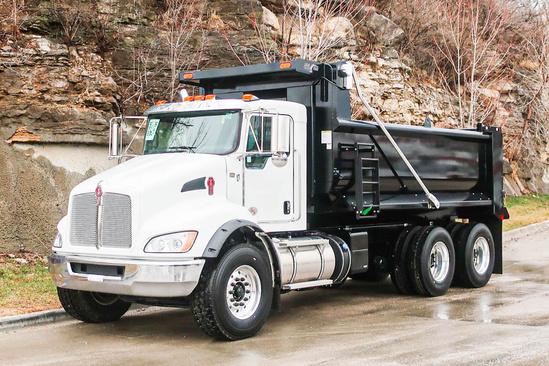 2022 Kenworth T370 6x4 Load King EXD16.0481-4HLI Dump Truck