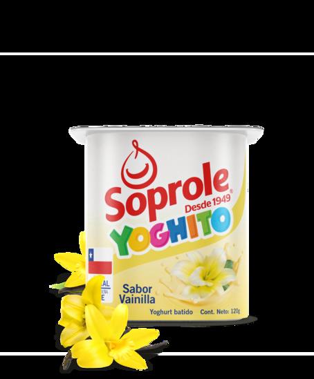Soprole Yoghurt Batido Sabor Vainilla