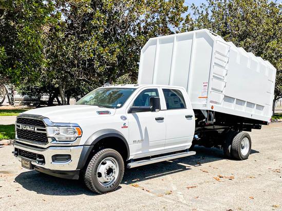 2019 Dodge Ram 5500 4x4 SoCal Bodies 12' Chipper Chip Truck
