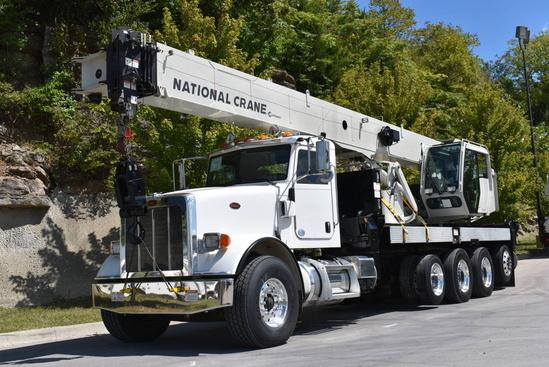 2013 Peterbilt 367 10x4 National NBT45142 Boom Truck
