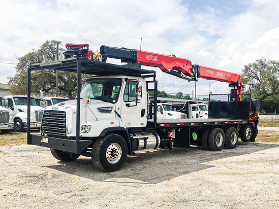 FASSI F390SE.24 Tree Trimming on 2020 Freightliner 114SD 8x4
