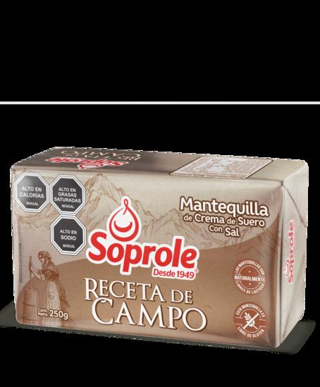 Soprole Mantequilla Receta de Campo 250g
