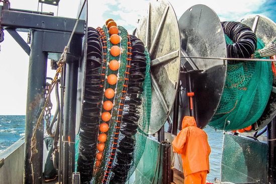 Twin trawl reels