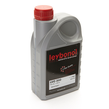 Oil for Single Stage Roughing Pumps (1 Liter) Produktbild Front View L