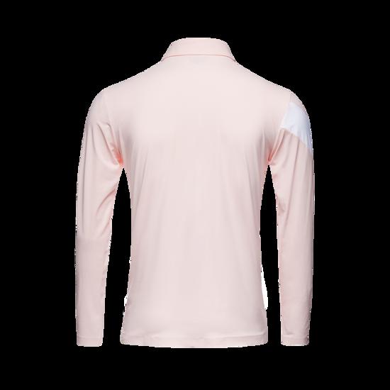 심리스 컬러 남성 Y넥 티셔츠