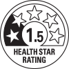 1.5 health star rating