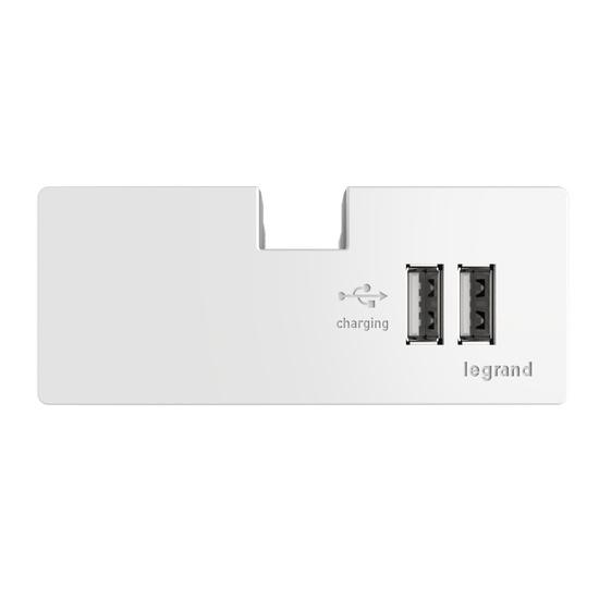 adorne® USB Outlet Module