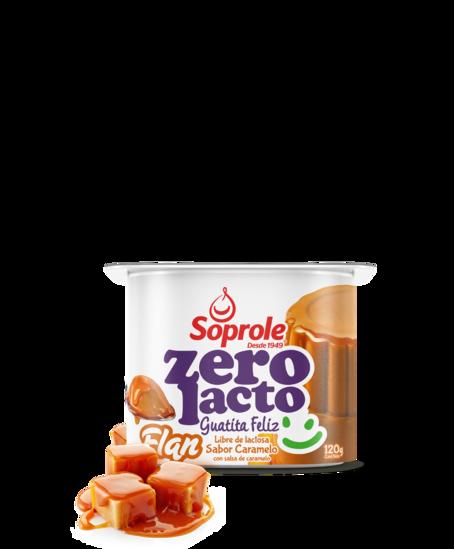 Soprole Flan sabor caramelo con salsa de caramelo