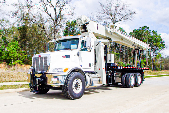 2019 Peterbilt 348 6x4 National NC9103A Boom Truck