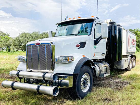 2020 Peterbilt 567 6x4 Aquatech B10-1450-27 Sewer Cleaner Truck