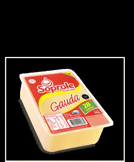 Soprole gauda queso laminado 500g