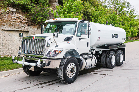 2019 International 7400 6x4 Load King 4000 Gal Kit Water Truck