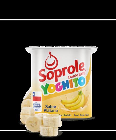 Soprole Yoghurt Batido Sabor Plátano