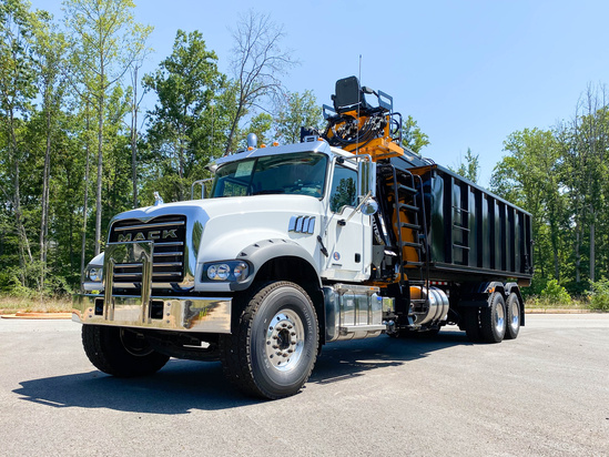 Rotobec Elite 910 MT27 Roll Off on 2020 Mack GU713/64FR 6x4