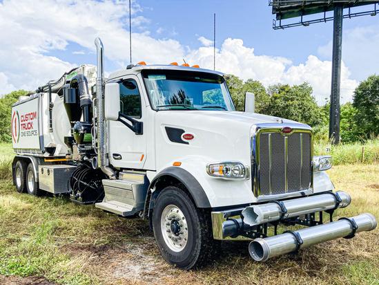 2020 Peterbilt 567 6x4 Aquatech B10-1450-27 Hydrovac Truck