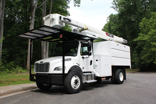 Terex XTPRO56-BOC-F-PC Forestry Bucket Truck on 2020 Freightliner M2106 4x2