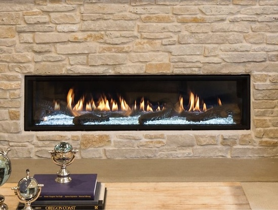 Primo Indoor Gas Fireplace   Heat & Glo