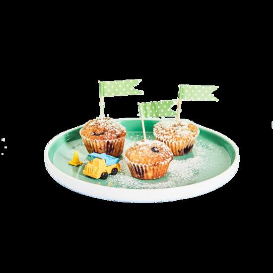 Blueberry & Banana Mini Muffins