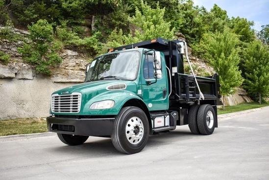 2015 Freightliner M2106 4x2 Load King LK10DB DMO00390 Dump Truck