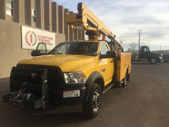 2012 Dodge Ram 5500 4x4 Versalift SST-37-EIH Bucket Truck