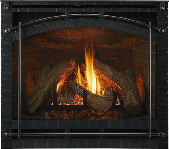 6000 Series Indoor Gas Fireplace | Heat & Glo