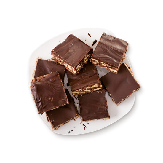 Unbaked Chocolate Slice