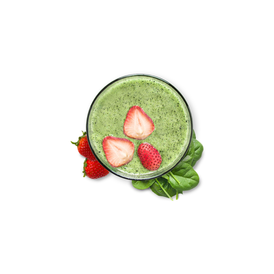 Strawberry & Spinach Smoothie