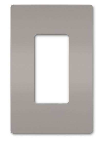 radiant® One-Gang Screwless Wall Plate