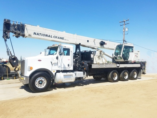 2013 Peterbilt 365 8x6 National NBT40142 Boom Truck