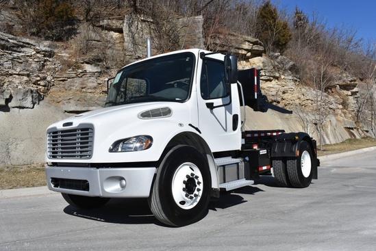 2019 Freightliner M2106 4x2 Galbreath SLCH-93 Container Handler Truck