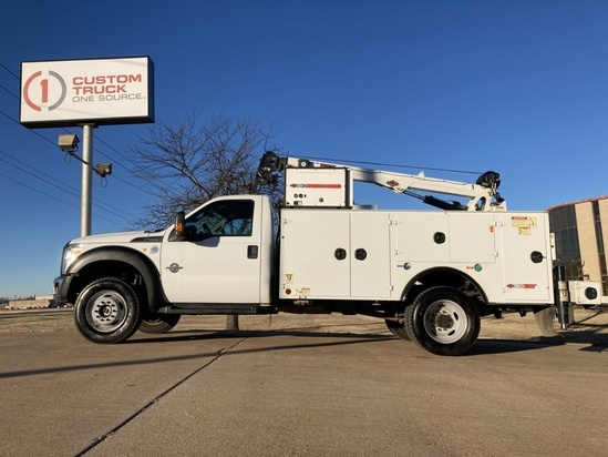 IMT DOM1SIII + 7500 ServiceTruck+Crane on 2016 Ford F550 4x4